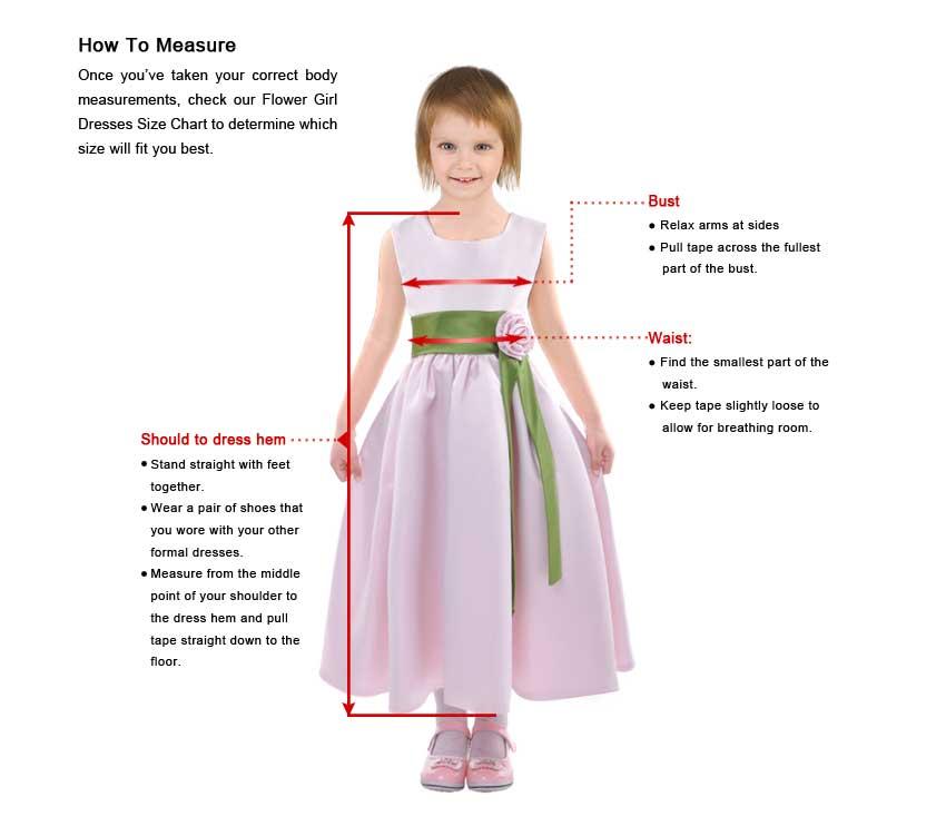 Children Dresses Measure Guide